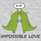 Impossible Love- T-rex edition  by Zozzy-zebra