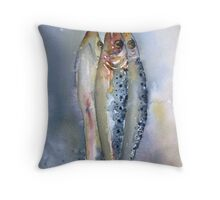 Hanging Out! Throw Pillow