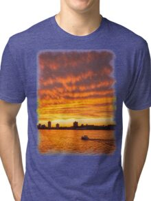 In Sunset's Wake Tri-blend T-Shirt