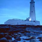 St Marys' Island, Whitley Bay by Kevin Allan