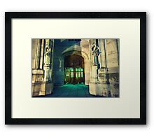 Office Open Framed Print