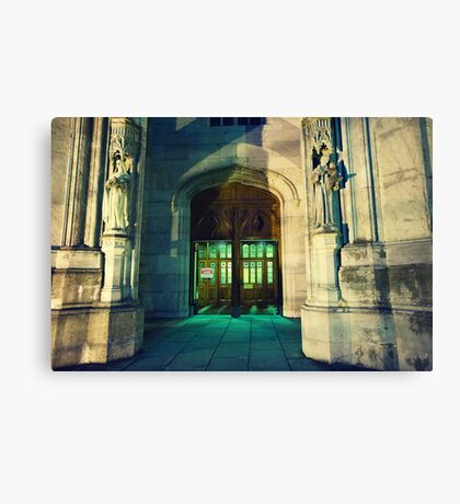 Office Open Canvas Print