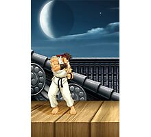 Street Fighter Ryu Photographic Print