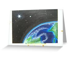 Earth Scape Greeting Card