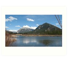 Vermillion Lakes, Banff, Canada Art Print