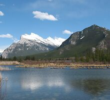 Vermillion Lakes, Banff, Canada by KerryElaine