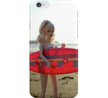 Surfs up Barbie iPhone Case/Skin