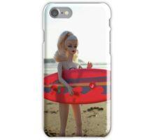 Surfs up Barbie iPhone Case/Skin