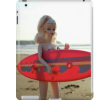 Surfs up Barbie iPad Case/Skin