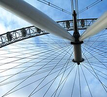 London Eye - a different perspective by Stephanie Owen