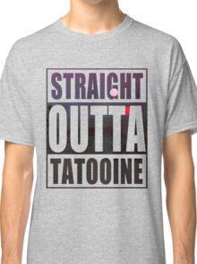 Retro Straight Outta Tatooine Classic T-Shirt