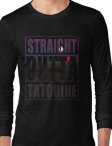 Retro Straight Outta Tatooine Long Sleeve T-Shirt