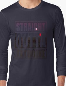 Retro Straight Outta Tatooine Long Sleeve T-Shirt