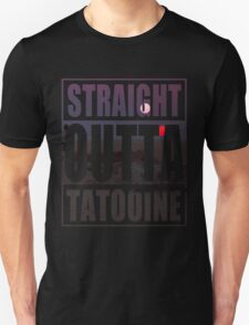 Retro Straight Outta Tatooine T-Shirt