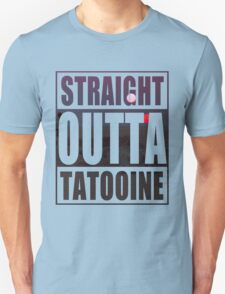 Retro Straight Outta Tatooine Unisex T-Shirt