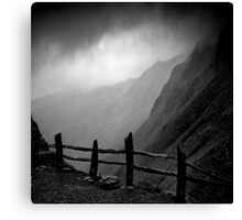 Top of Honister Pass Canvas Print