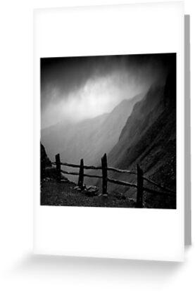 Top of Honister Pass by marshall calvert  IPA