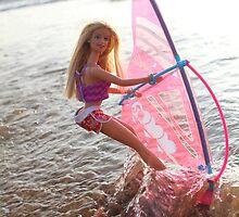 Vintage windsurf Barbie by shootingnelly