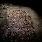 Mosaic Floor, Pompeii by James Hennman