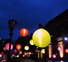 Rainbow Lanterns, Edinburgh by KerryElaine