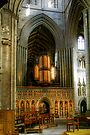 Entrance to the Choir at Ripon Cathedral by Christine Smith