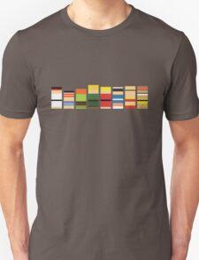 Minimalist Pixel Street Fighter Characters T-Shirt