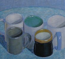"""Coffee Cups"" by Richard Robinson"