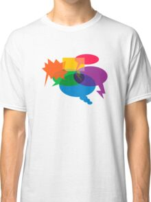 Speech Bubbles Classic T-Shirt