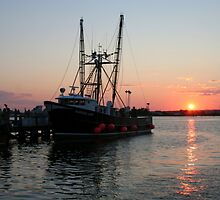 The Barbara Ann, Gallilee, Rhode Island by cindyh