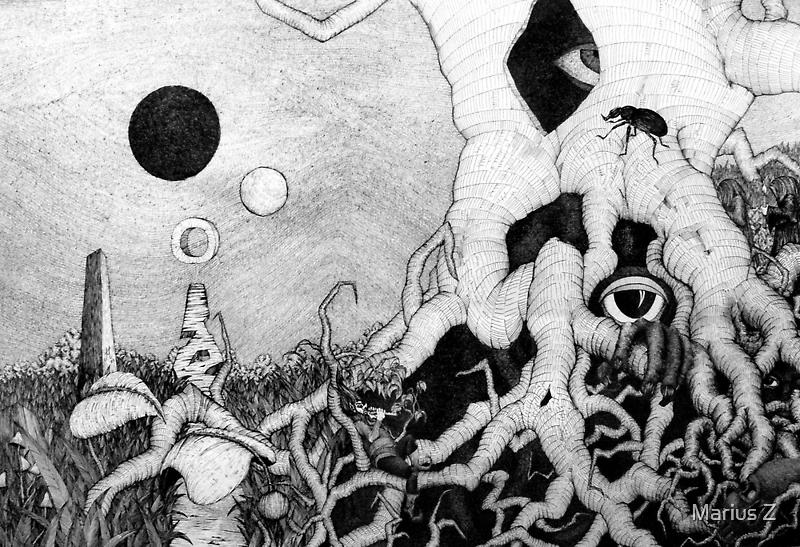 axis mundi by Mariusz Zawadzki