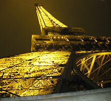 The height of the Eiffel Tower, Paris by KerryElaine