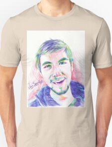 Jacksepticeye Pen Portrait T-Shirt