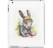 March Hare in May iPad Case/Skin