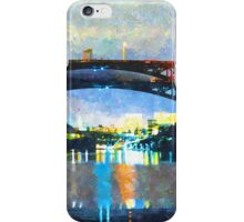 Nighttime Reflections iPhone Case/Skin