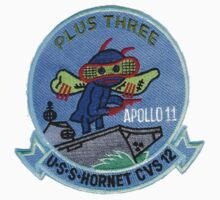 CVS-12 USS Hornet Apollo 11 Recovery Patch 1 Kids Clothes