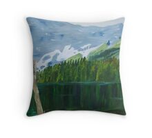 The Upper lake Throw Pillow