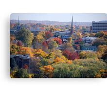 Autumn Poughkeepsie NY Canvas Print
