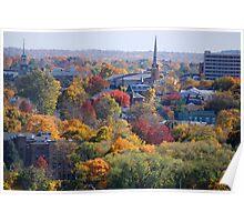 Autumn Poughkeepsie NY Poster