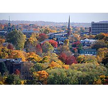 Autumn Poughkeepsie NY Photographic Print