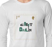 British Stamp Collection_ Alreet Darlin Long Sleeve T-Shirt