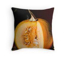 Happy Thanksgiving Pumpkin Throw Pillow