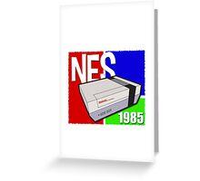 """Nintendo """" NES """" / Fun since 1985 Greeting Card"""