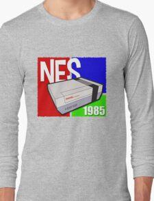"Nintendo "" NES "" / Fun since 1985 Long Sleeve T-Shirt"