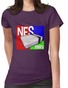"""Nintendo """" NES """" / Fun since 1985 Womens Fitted T-Shirt"""