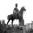 Royal Scots Greys Statue,Princes Street, Edinburgh by Dorothy Thomson