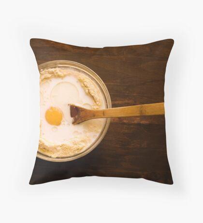 Cornbread From Scratch Throw Pillow