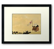 Watchful Knight Framed Print