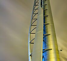 Glasgow Science Tower by bluefinart