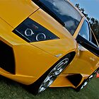 Lamborghini Murcielago in yellow by Ferenghi