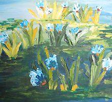 The Marshy flowers by reshrocks